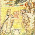 Melchisedek benedice Abramo