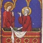 Pietro e Giovanni nel sepolcro