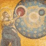 Dio crea il sole, la luna e le stelle