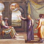 Giuseppe interpreta i sogni del faraone