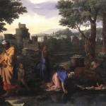 Mosè sul fiume Nilo