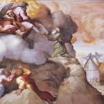 Dio dona a Mosè le 10 parole