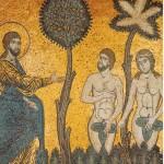 Dio chiede spiegazioni all'uomo e alla donna