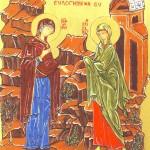 Maria visita Elisabetta