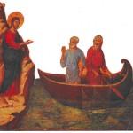 Gesù incontra Simone e Andrea