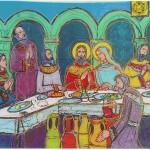 Gesù incontra una coppia di sposi