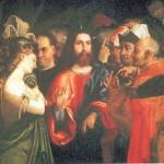 Gesù perdona una peccatrice