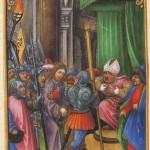 Gesù davanti a Caifa
