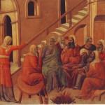 Pietro rinnega Gesù