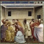Gesù viene percosso